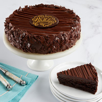 Triple Chocolate Enrobed Brownie Cake Full View Image Selector