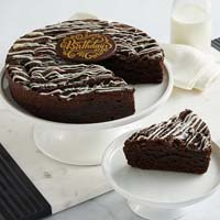 Wide View Image Cookies and Cream Brownie Cake (military)