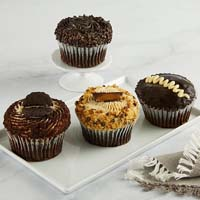 Wide View Image JUMBO Chocolate Lovers Cupcakes