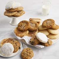 Wide View Image Two Dozen Assorted Gourmet Cookies (military)