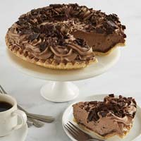 Wide View Image Chocolate Mousse Pie