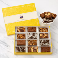 Wide View Image Gourmet Brownie Sampler