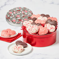 Wide View Image Valentine's Heart-Shaped Cookies