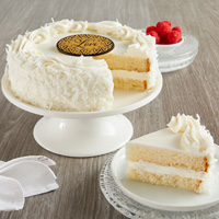 Wide View Image Coconut Cream Cake
