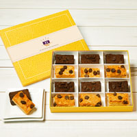 Wide View Image Gluten-Free Gourmet Brownie Sampler