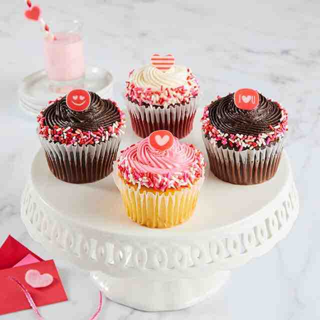 Best selling product  jumbo-valentines-day-cupcakes-delivered
