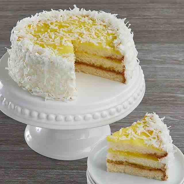 Best selling product  lemon-coconut-cake