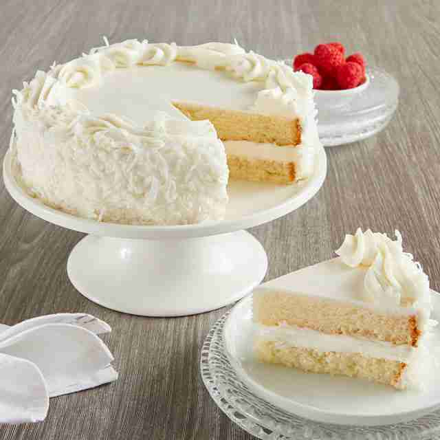 Best selling product  coconut-cream-cake