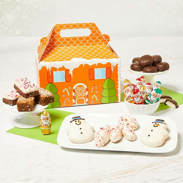 Gingerbread Snack Box